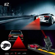 Car Cool Pattern Anti-Collision End Tail Rear Fog Driving Laser Caution Light