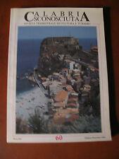 CALABRIA SCONOSCIUTA n° 60/1993-riv.cultura/turismo-96 pag-Scilla in  copertina
