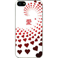 Valentine's Graduating Red Hearts Love in Chinese iPhone 6 Slim Case Cover