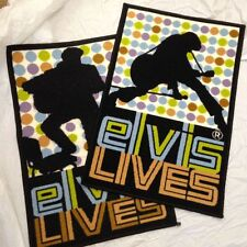 Lot of 2 different  Elvis Presley Guitar  Floor Rugs Mats Carpets  NEW