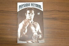 PHYSIQUE PICTORIAL VOL XI #1 60s VINTAGE MAGAZINE BOYS ART BEEFCAKE GAY NUDE