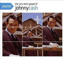 Playlist The Very Best Gospel of Johnny Cash [Digipak]  CD SEALED