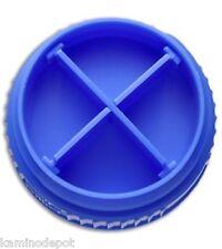 Nalgene Pillid Pill-Lid Store Pills, Essentials Atop your Water Bottle - Blue