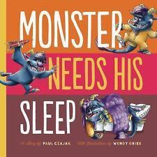 Monster Needs His Sleep Monster & Me)