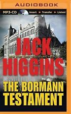 Paul Chevasse: The Bormann Testament 1 by Jack Higgins (2015, MP3 CD,...