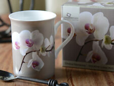 ORCHID HARMONY Fine Bone China MUG IN GIFT BOX By Creative Tops
