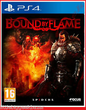 BOUND by FLAME Fall PS4 Playstation Jeu Video Focus Spiders
