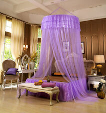 Hanging Bed Canopy Lace Mosquito Net Adults Kids Double Bed Netting Bedding