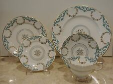 Copelands Grosvenor China Dirigo Chicago 5 Dinnerwear Set