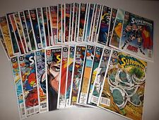 Superman The Man of Steel  #18-56 VF (Complete Lot of 39) Doomsday Funeral run