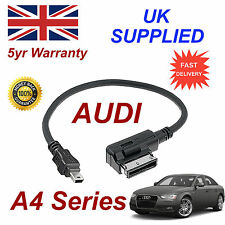 AUDI A4 Series AMI MMI 4F0051510H MP3 PHONE MINI USB Cable connections