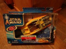 2002 HASBRO--STAR WARS ATTACK OF THE CLONES--ANAKIN SKYWALKER SPEEDER (NEW)