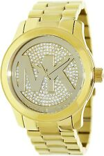 Michael Kors Women's Runway MK5706 Gold Stainless-Steel Quartz Watch