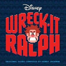 WRECK-IT RALPH CD - SOUNDTRACK (2012) - NEW UNOPENED - DISNEY