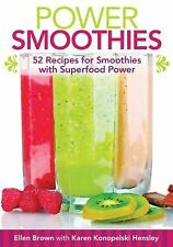 Power Smoothies [mini book]: 52 Recipes for Smoothies with Superfood Power
