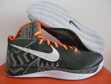 NIKE HYPERFUSE BHM BLACK HISTORY MONTH ANTHRC-ORANGE SZ 15 [525022-007]