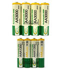 36 AA 3000mAh + 36 AAA 1350mAh 1.2V NI-MH Rechargeable Battery 2A 3A BTY Green