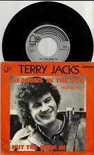 Terry Jacks ,rare picture sleeve single- Seasons In The Sun / Put The Bone In