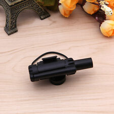 Outdoor Electronic LED Light Fish Bite Sound Alarm Bell Fishing Rod Black
