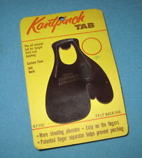 LH MEDIUM *KANTPINCH* Finger Tab for Hunting-Target-Recurve/Longbow/Compound Bow