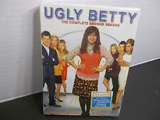 UGLY BETTY THE COMPLETE SECOND SEASON NEW! BONUS FEATURES ! FABULOUS CITY GUIDE!