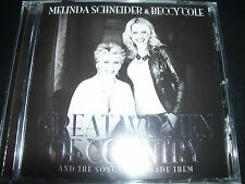 Melinda Schneider & Beccy Cole Great Women Of Country CD - New