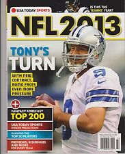 USA TODAY SPORTS MAGAZINE PRESENTS, NFL FOOTBALL 2013, IS THIS TEXAN'S YEAR.