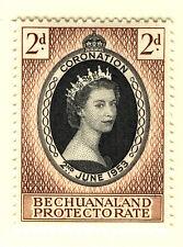 BECHUANALAND 1953 CORONATION  MNH