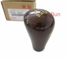 GENUINE WOODEN GEAR KNOB TOYOTA HILUX MK6 SR5 VIGO MANUAL 05-13 WOOD 07 08 09 11