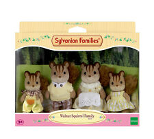 Sylvanian Families Family Set 4172 Walnut Squirrel Family /3+ Brand New In Box