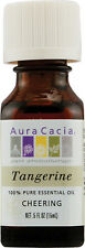 Tangerine Essential Oil, Aura Cacia, 0.5 oz