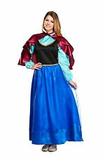 Onorevoli adulto Anna Ghiaccio Princess Fancy Dress Costume libro settimana