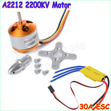 New XXD RC 2200KV Brushless Motor A2212/6T + ESC 30A Brushless Speed Controller