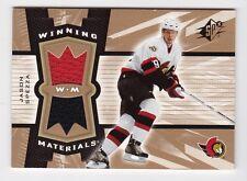 2006-07 NHL Upper Deck SPx Winning Materials Jerseys # WM-SP Jason Spezza