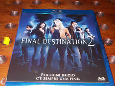 Final destination 2 Blu-Ray ..... Nuovo