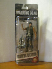 McFarlane Toys The Walking Dead TV Series 6 DARYL DIXON New on Mint Card. MOMC