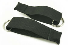 2× Resistance Band Door Anchor Strap Fitness Equipment Sport D-ring Pull rope