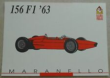 Ferrari Galleria 1992 156 F1 1963 Card Karte brochure prospekt book buch press