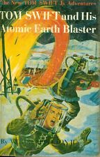 TOM SWIFT AND HIS ATOMIC EARTH BLASTER by Victor Appleton II (c) 1954 G&D  HC  Y