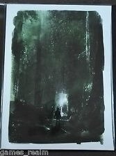 "The legend of zelda ""a perdu du woods giclee promo-david mahoney a.p lithographie new"