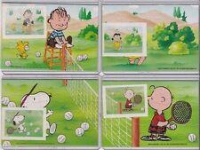 """Ü Ei Ferrerro - Ü-Ei - Puzzle    Peanuts"""" Tennis     1993 mit 4 BPZ"""