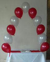 Cake Table Small Helium Balloon Arch DIY Kit for Wedding, Party, Christening etc