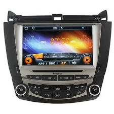 "Koolertron 8"" Auto Radio DVD GPS Satnav Stereo for Honda Accord 2003-2007"