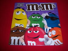 2014 official M&M's wall calendar--LICENSED--sealed BRAND NEW--FREE SHIPPING