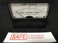 API Instrument Panel Mounted Meter 0-200 Lamp Current, Amps AH-0093-0050   D34