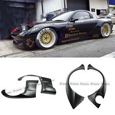 New 4Pcs Front & Rear Fender Protector Kit For Mazda RX7 FD3S Rock-Bunny FRP