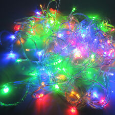 33 Ft RGB LED Christmas Party Garden Wedding String Fairy Tree Color Light Strip