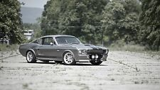 1967 Ford Mustang Shelby GT500 24X36 inch poster, sports car, muscle car