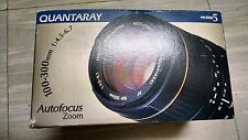 New Quantaray 100-300mm f4.5-6.7 LDO Lens for Minolta AF 25-166-4850