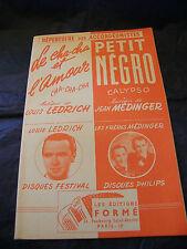 Partition Le cha cha et l'amour Ledrich Petit Negro Médinger Music Sheet